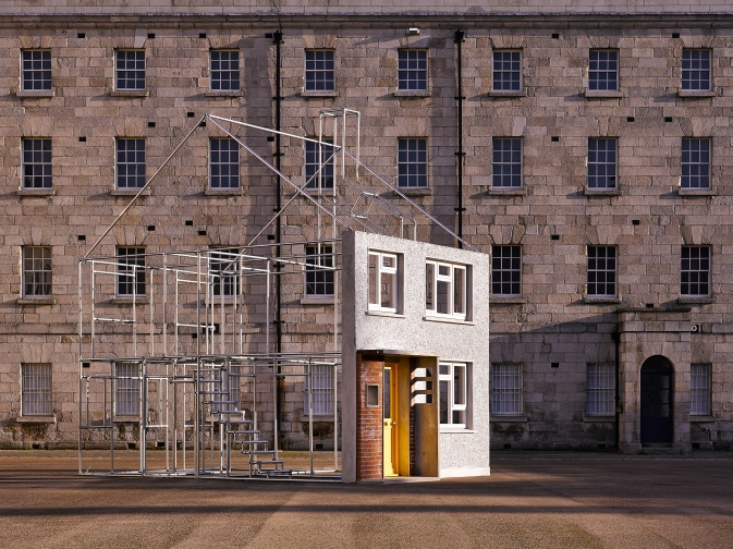 'Beyond Pebbledash' Installation Photograph by Ros Kavanagh — at National Museum of Ireland, Collins Barracks