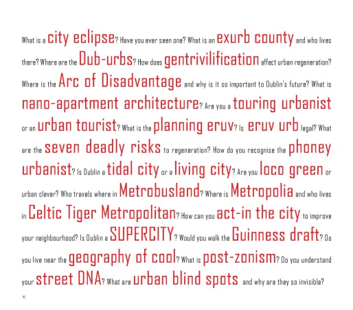 Redrawing Dublin - Phrases and Lingo